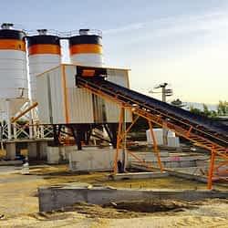 concrete batching equipment