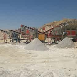 mobile coal crushing plant
