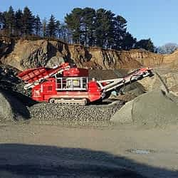 Tracked Cone Crusher