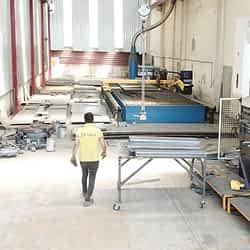 FABO-3 SHEET PROFILE CUTTING & TWISTING PRETREATMENT PRODUCTION