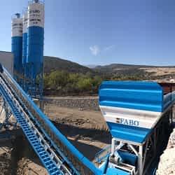 Powermix-130 Concrete Batching Plant | Yunus Emre Municipality | Manisa / Turkey