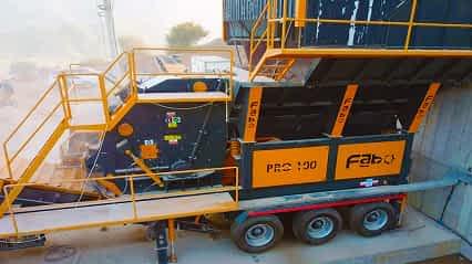 PDK-100 Primary Impact Crusher