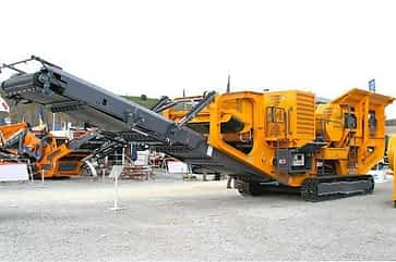 FTJ-90 Tracked Jaw Crusher
