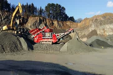 FTC 900 Tracked Cone Crusher