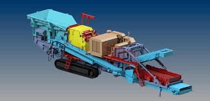 FTI-125 Trucked Impact Crusher