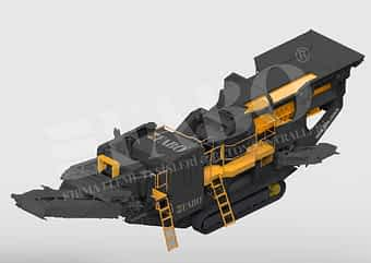 FTJ-110 Tracked Jaw Crusher