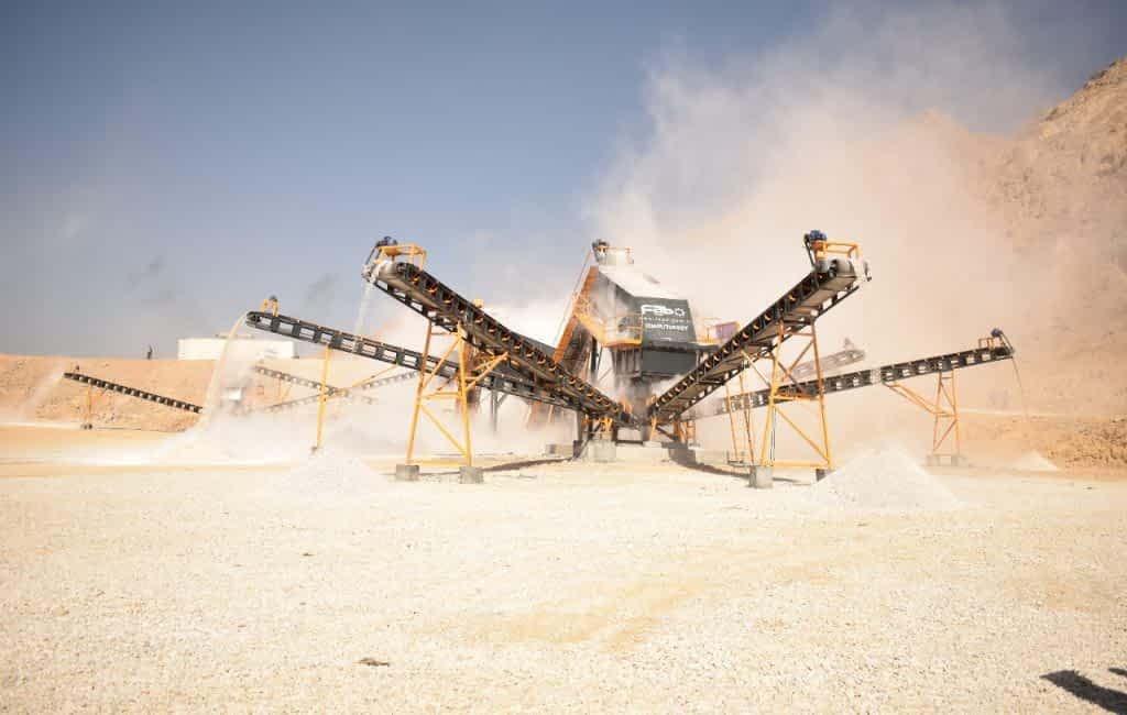 500 TPH Crushing & Screening Plant Minitech LLC Muscat Oman