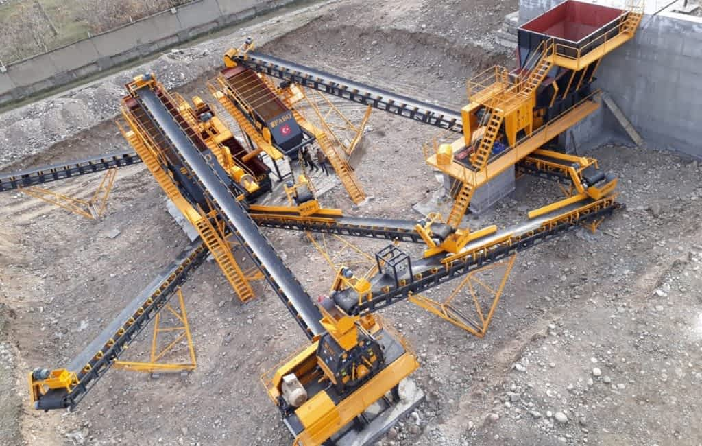 Hard Stone Crushing and Screening Plant 120-200 TPH MADATKOR DO`STLAR TASHKENT UZBEKISTAN