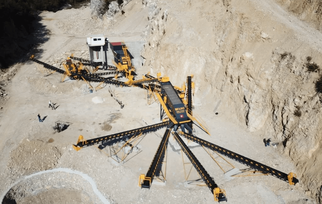 Limestone Crushing and Screenin Plant 250350 TPH ISENI COMPANY KIRCHOVA MAKEDONYA