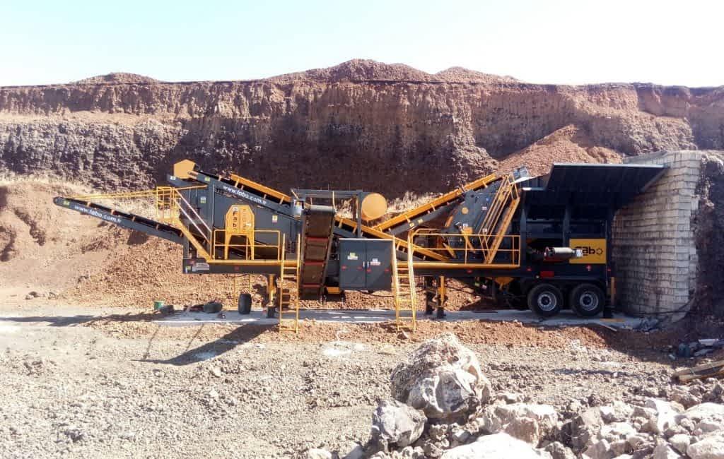Pro 90 Mobile Crushing And Screening Plant Mardin