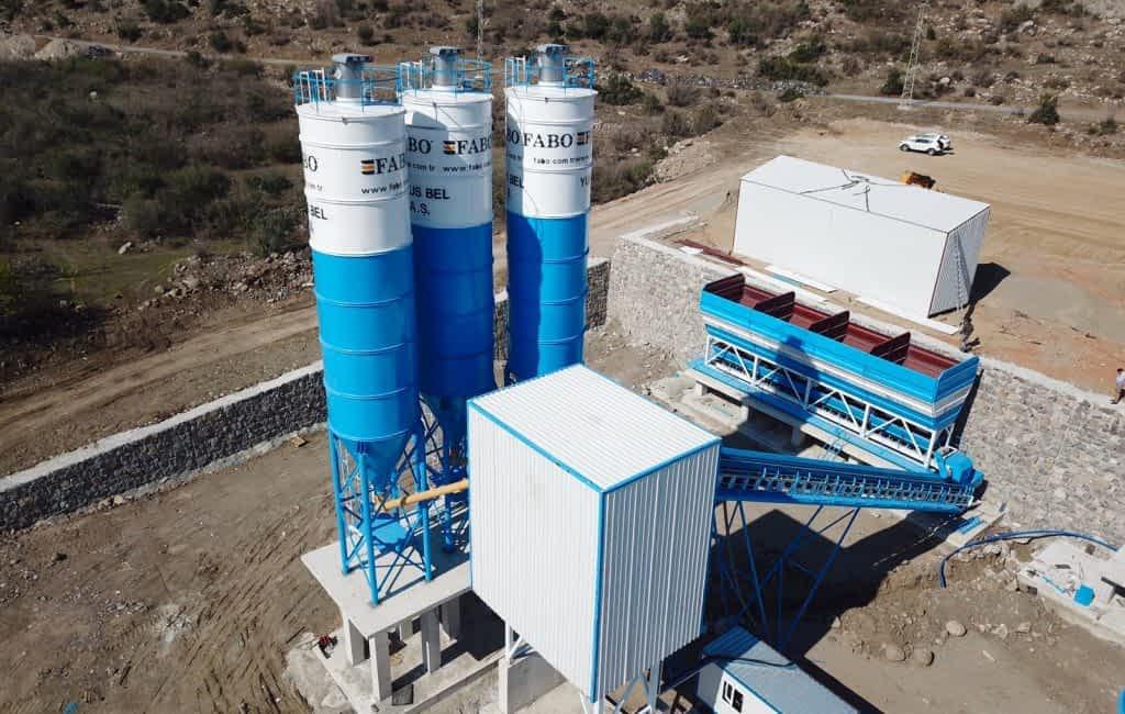 Powermix-130 Concrete Batching Plant Yunus Emre Municipality Manisa Turkey