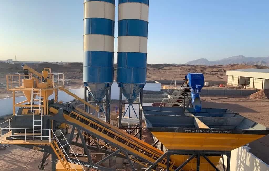 Turbmoix-100 Mobile Concrete Batching Plant Minitech L.L.C Sur Oman