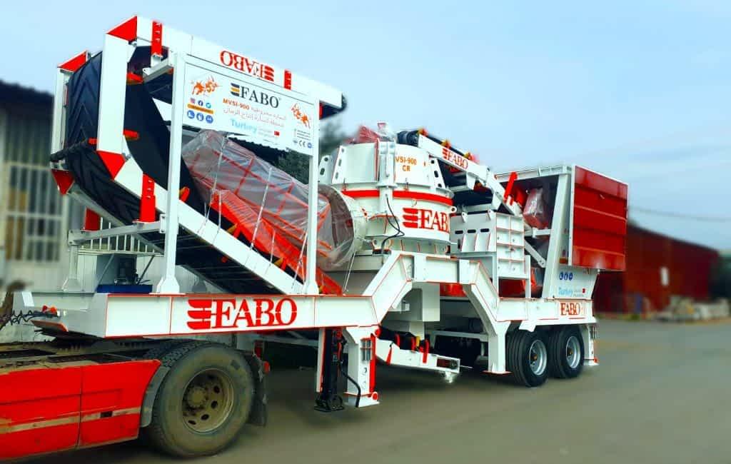 MVSI-900 Mobile Vertical Shaft Impact Crusher | GRAVEL COMPANY|IRAQ / ERBIL