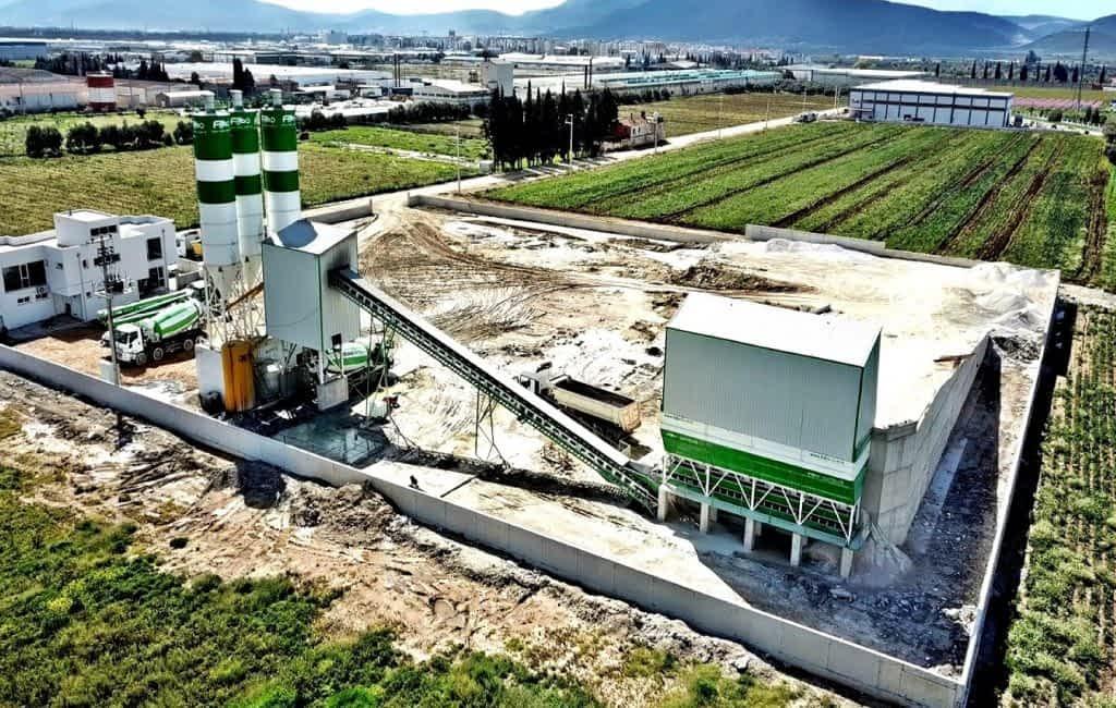 Powermix 130 m3 Concrete Batching Plant